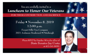 Veteran Luncheon - Nov 2019