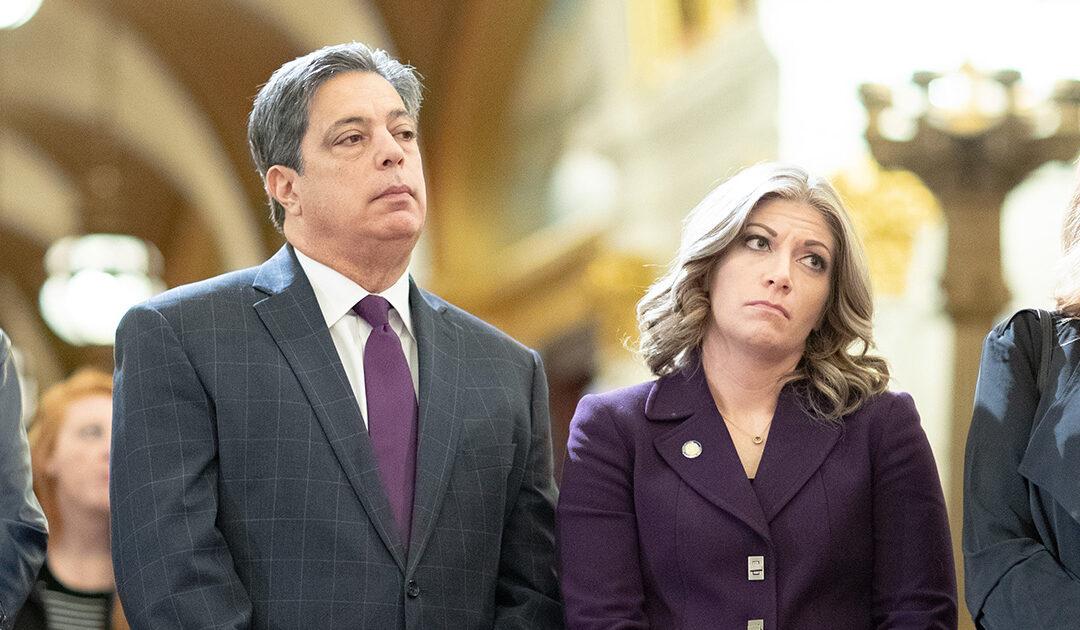Senator Costa and Senator Muth
