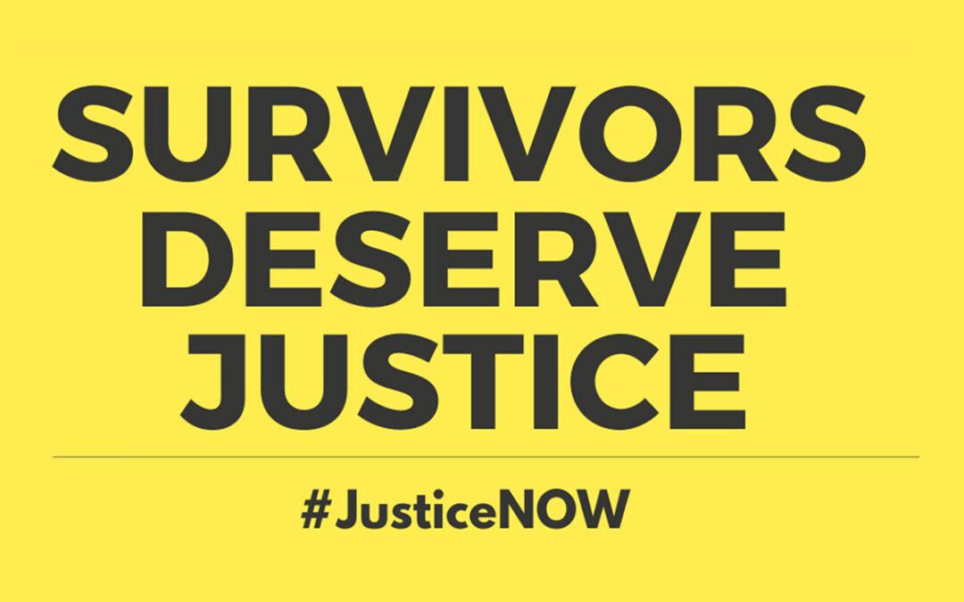 Survivors Deserve Justice