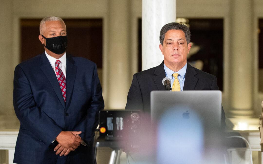 Senators Anthony H. Williams and Jay Costa