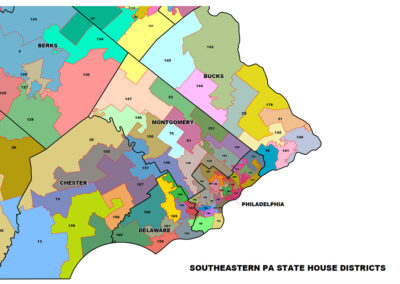 Southeastern PA State House Districts