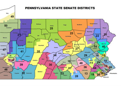 Pennsylvania State Senate Districts